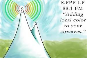 KPPP 88.1 logo